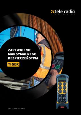 Ulotka informacyjna Tele Radio Tiger