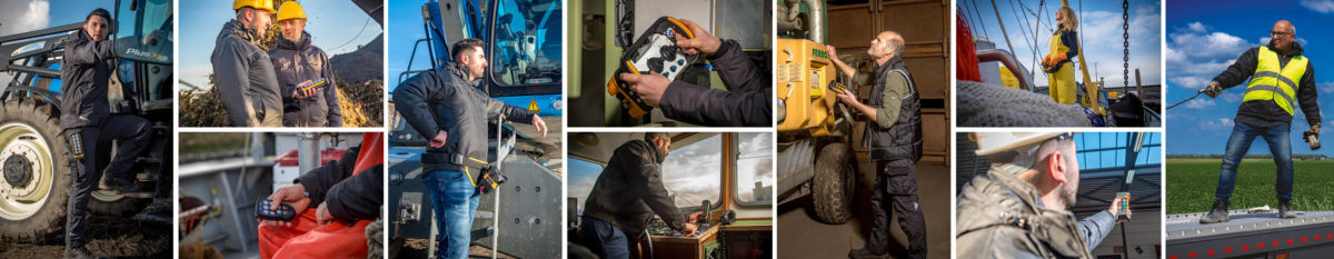 Bezpieczne systemy zdalnego sterowania radiowego do różnych zastosowań
