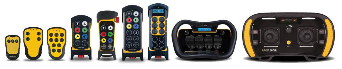 Nadajniki sterowania radiowego Tele Radio