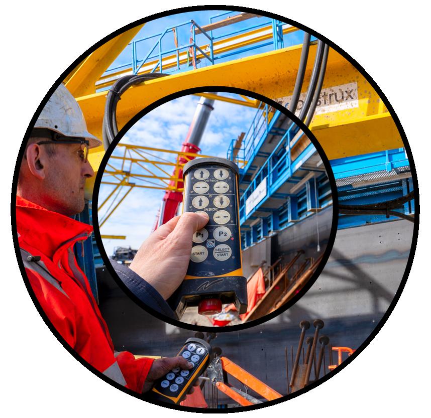 Construx setzt Tele Radio Funkfernsteuerungen ein