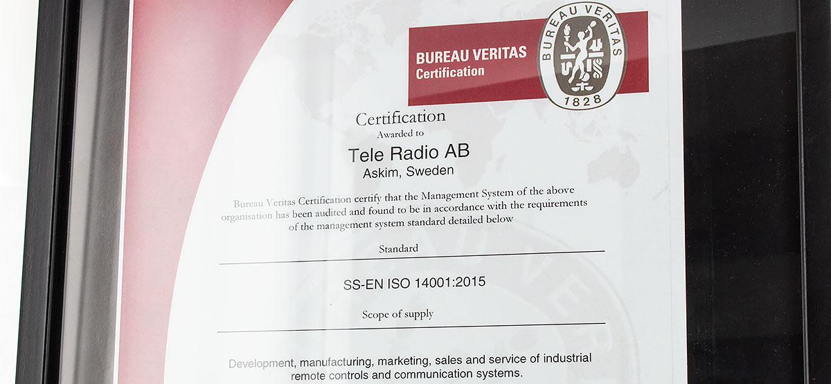 ISO14001 Tele Radio