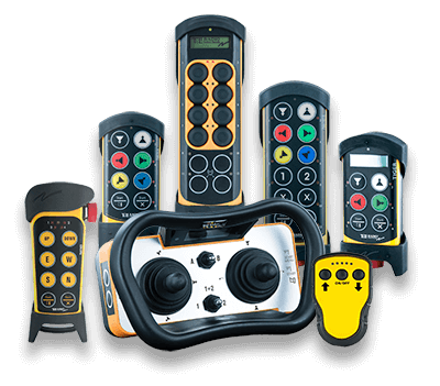 industrial wireless remote control systems