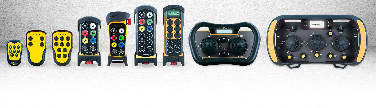 Safe radio remote control - Tele Radio | We offer wireless